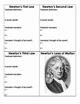 Newton's Laws Of Motion Worksheet Inspirational Pinterest • the World's Catalog Of Ideas