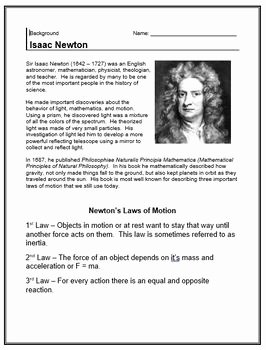 Newton's Laws Of Motion Worksheet Luxury Newton S Laws Of Motion Pyramid Info Sheet Lab and