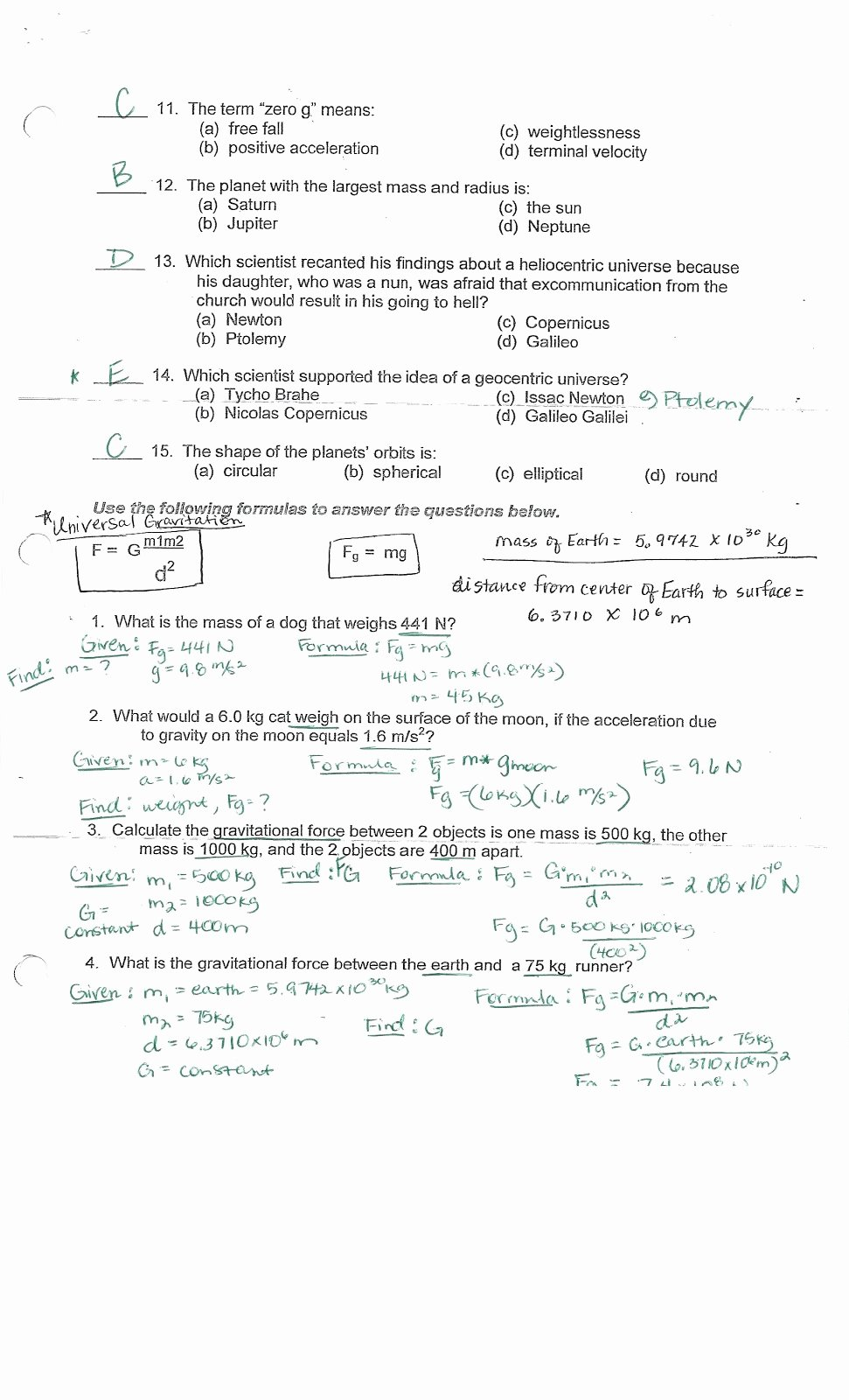 Newton's Laws Review Worksheet Answers Elegant Physics with Coach T Centripetal Acceleration Universal