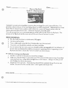 Newton's Laws Worksheet Answers Lovely Newtons Laws Of Motion and forces Worksheets Activities