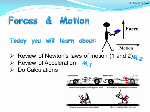 Newton's Laws Worksheet Answers New Newton S First and Second Laws Of Motion Physics by