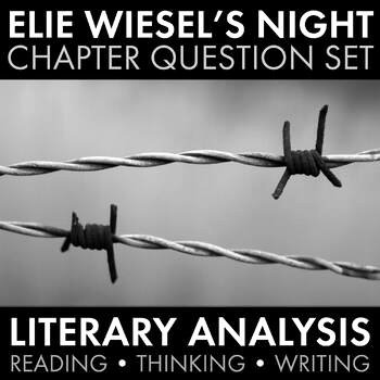 Night Elie Wiesel Worksheet Answers New Night by Elie Wiesel Worksheets Hw Discussion Questions