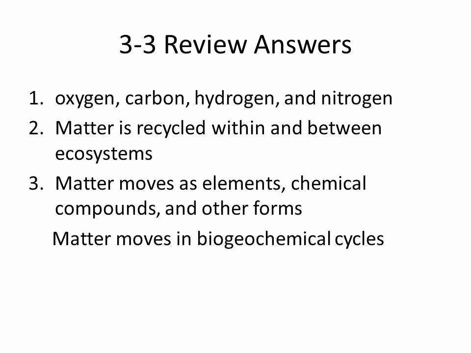 Nitrogen Cycle Worksheet Answers Best Of Water Carbon and Nitrogen Cycle Worksheet Answers