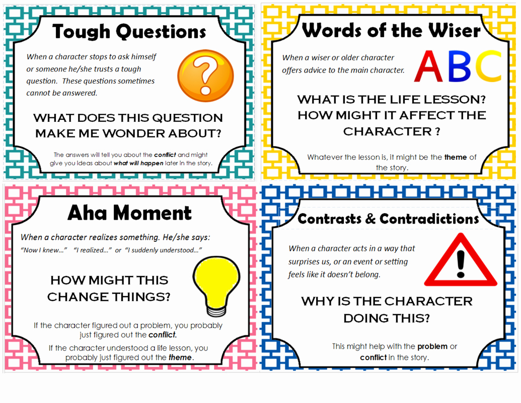 Notice and Note Signposts Worksheet Inspirational Notice and Note