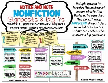 Notice and Note Signposts Worksheet Luxury 253 Best Reading Nonfiction Images On Pinterest