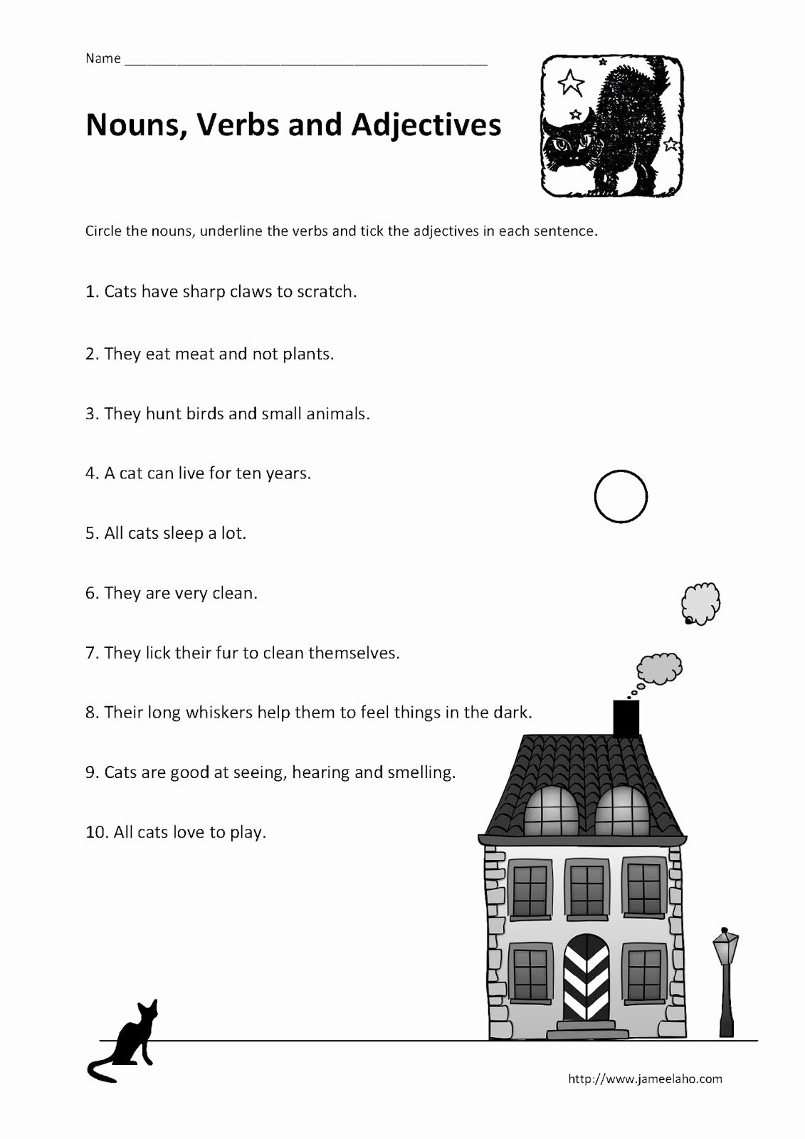 Nouns and Verbs Worksheet Elegant Teaching Simplified Identifying Nouns Verbs and