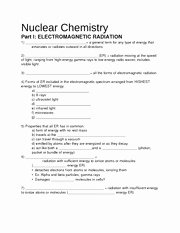 Nuclear Chemistry Worksheet Answers Beautiful Molarity Practice Worksheet 1 Molarity Practice