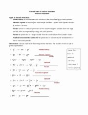 Nuclear Decay Worksheet Answers Key New Nuclear Chemistry Worksheet Answer Key