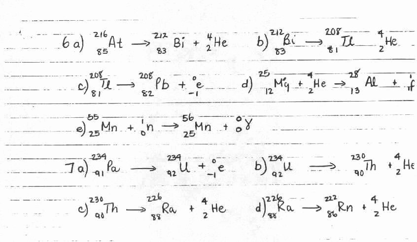 Nuclear Reactions Worksheet Answers Best Of Nuclear Reactions Worksheet