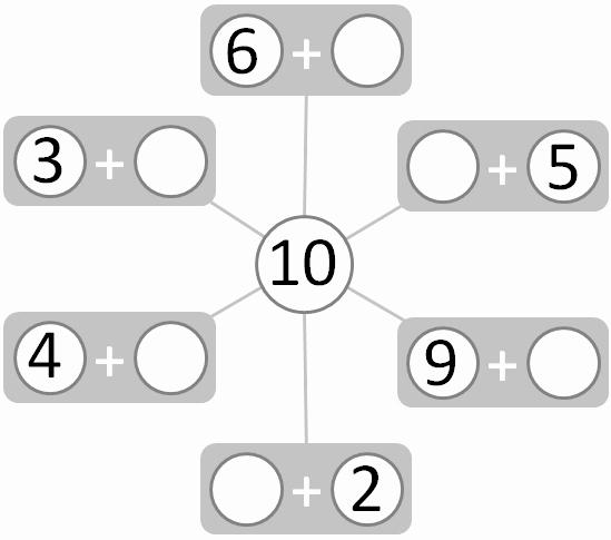 Number Bonds to 10 Worksheet Awesome Worksheet Number Bonds Numbers to 10