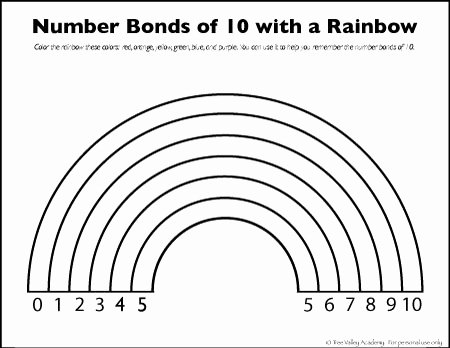Number Bonds to 10 Worksheet Best Of Number Bonds to 10 Free Math Worksheets