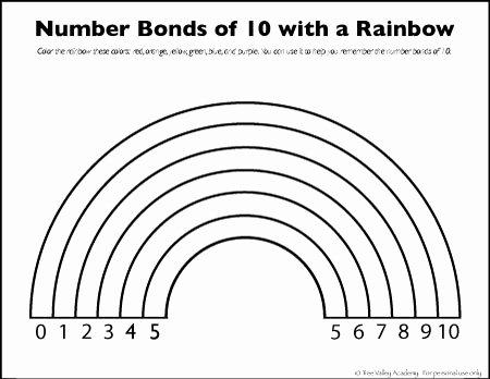 Number Bonds to 10 Worksheet Best Of Number Bonds to 10 Free Math Worksheets