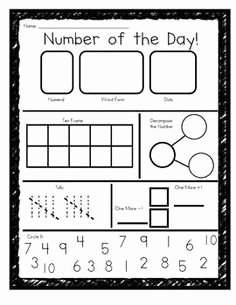 Number Of the Day Worksheet Beautiful 17 Best Of Number Day Worksheet Day Of the