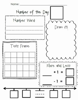 Number Of the Day Worksheet Elegant Number Of the Day