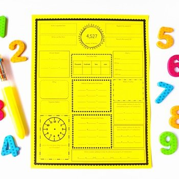 Number Of the Day Worksheet Luxury Number Of the Day for 3rd and 4th Grade by ashleigh