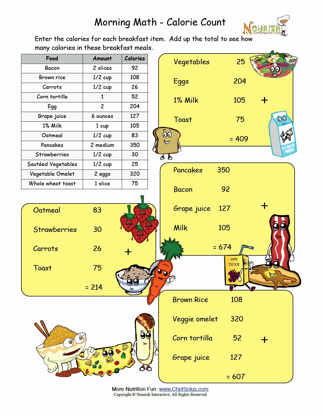 Nutrition Label Worksheet Answer Key Luxury Hey King Get F Our Backs Worksheet Answer Key