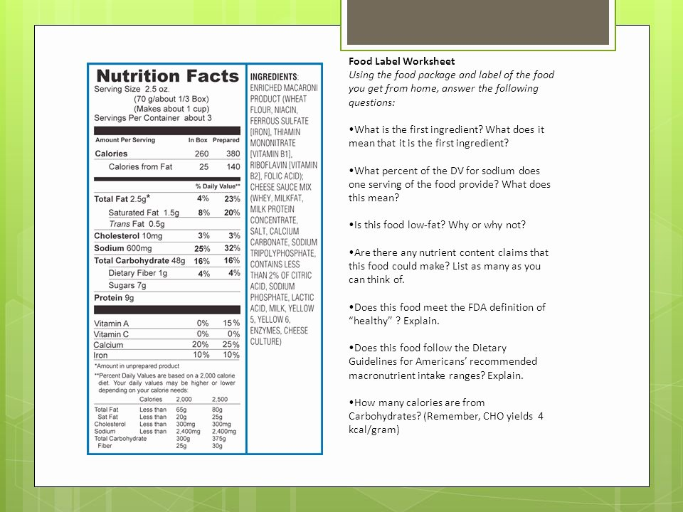 Nutrition Label Worksheet Answers Best Of Nutrition Crossword Puzzle Answers Chapter 12 Nutrition