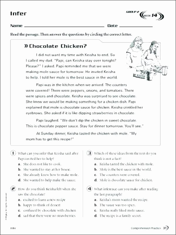 Observation and Inference Worksheet Fresh Observations and Inferences Worksheet