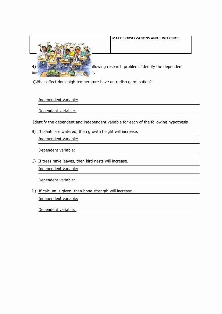 Observation and Inference Worksheet Inspirational Worksheet Observation Inference Hypothesis