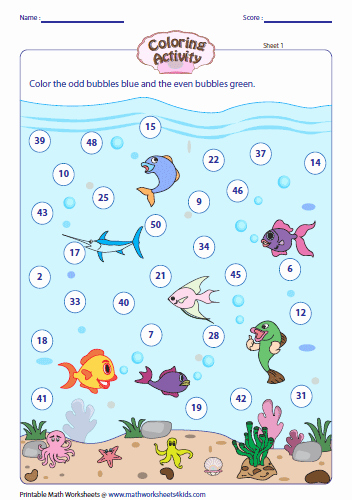 Odd and even Numbers Worksheet Inspirational Odd and even Numbers Worksheets