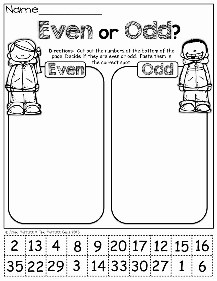 Odd and even Numbers Worksheet Lovely 25 Best Ideas About even and Odd On Pinterest
