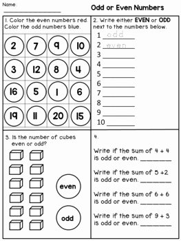 Odds and even Worksheet Best Of Odd and even Worksheets 2nd Grade by Dana S Wonderland