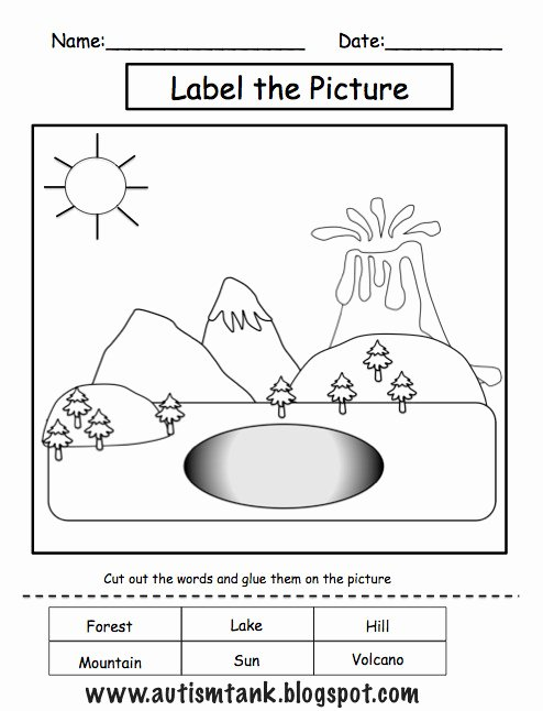 Ohm's Law Worksheet Answers Best Of Landforms Worksheets