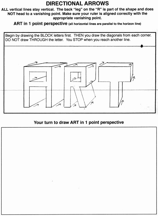 One Point Perspective Worksheet Awesome 248 Best Images About Perspective for Class On Pinterest