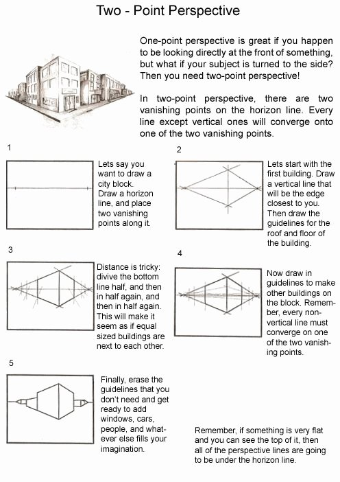 One Point Perspective Worksheet Beautiful 17 Best Images About Perspective On Pinterest