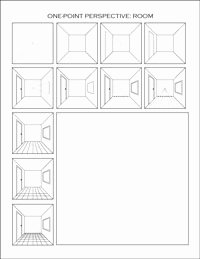 One Point Perspective Worksheet Best Of E Point Perspective Worksheets Dawn S Brain