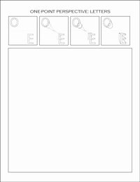 One Point Perspective Worksheet Fresh E Point Perspective Worksheets Dawn S Brain