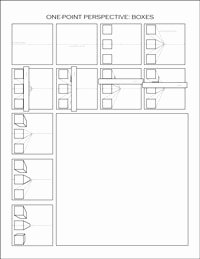 One Point Perspective Worksheet Inspirational E Point Perspective Worksheets Dawn S Brain