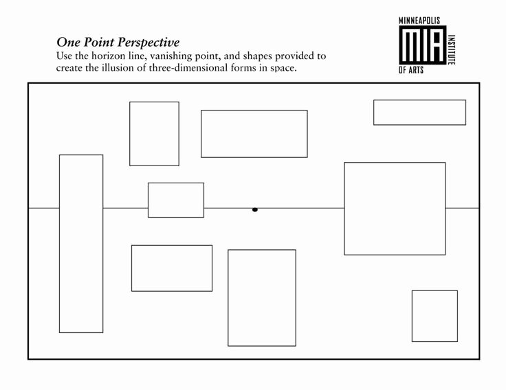 One Point Perspective Worksheet Lovely 41 Best Intro to Drawing Images On Pinterest