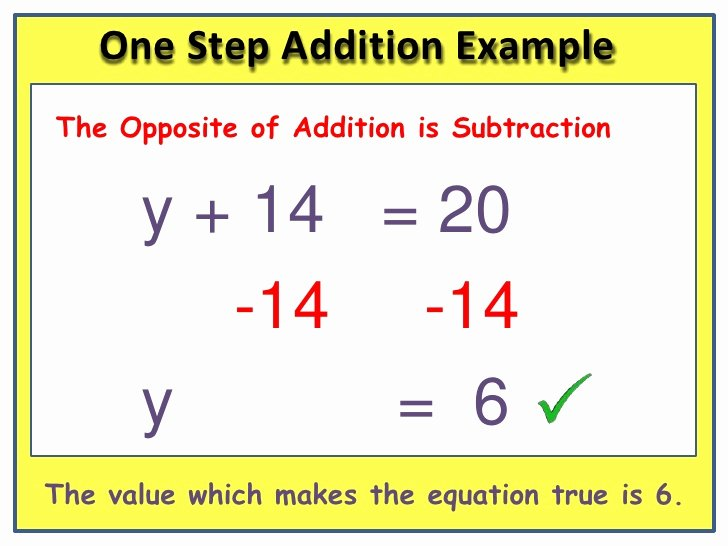 One Step Equations Worksheet Pdf New solving E Step Equations