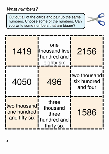 Ones Tens Hundreds Worksheet Fresh Place Value Thousands Hundreds Tens and Ones by