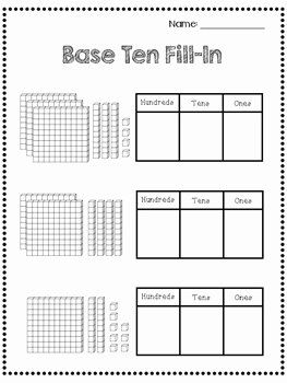 Ones Tens Hundreds Worksheet Unique Place Value Worksheets 2nd Grade Es Tens Hundreds by