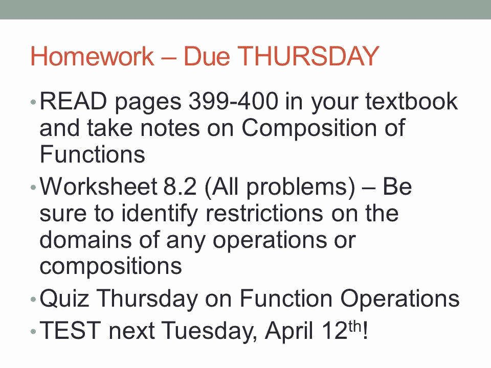 Operations On Functions Worksheet Best Of Function Operations Worksheet