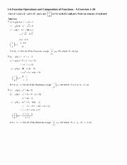Operations On Functions Worksheet Elegant Chapter 2 Review Worksheet Answers Chrp'fefl 2 fimzm