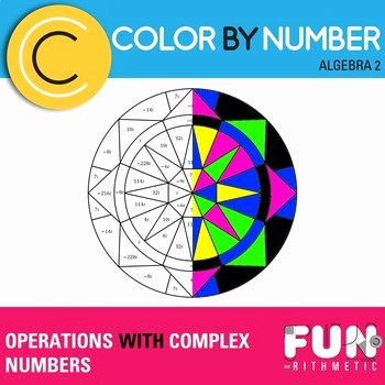 Operations with Complex Numbers Worksheet Elegant Operations with Plex Numbers Color by Number by