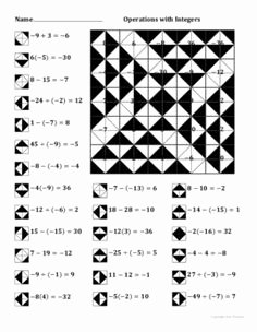 Operations with Integers Worksheet Pdf Inspirational Halloween Coordinate Graphing