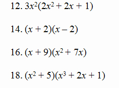 Operations with Polynomials Worksheet Awesome Operations with Polynomials Worksheet Pdf and Answer Key