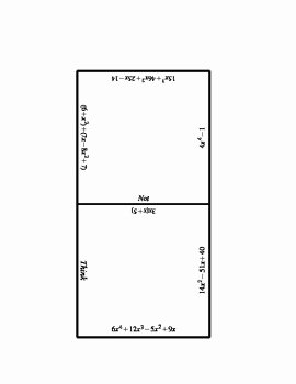 Operations with Polynomials Worksheet Lovely Operations with Polynomials Puzzle by Jennifer Merker