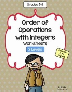 Operations with Rational Numbers Worksheet Awesome 1000 Images About Integers On Pinterest