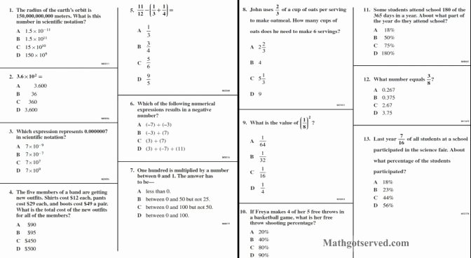 Operations with Scientific Notation Worksheet Inspirational Math Handbook Transparency Worksheet Scientific Notation