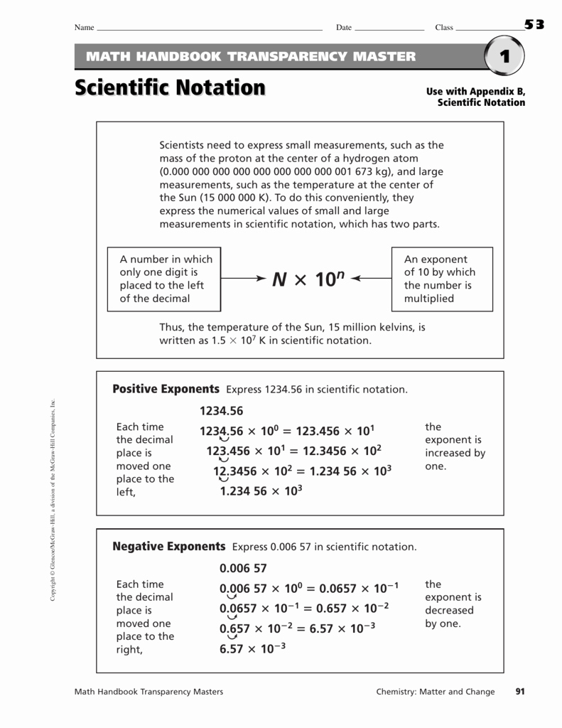Operations with Scientific Notation Worksheet Inspirational Scientific Notation Worksheet Adding and Subtraction
