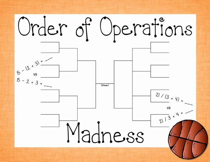 Order Of Operations Puzzle Worksheet Unique order Of Operations Madness order Of Operations with