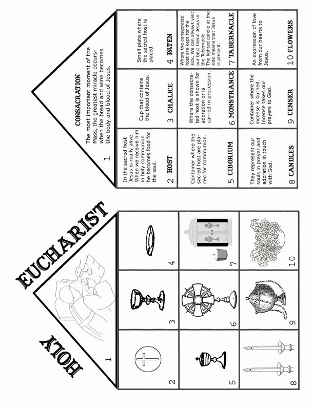 Order Of the Mass Worksheet Elegant 15 Holy Eucharist Catholic Mass