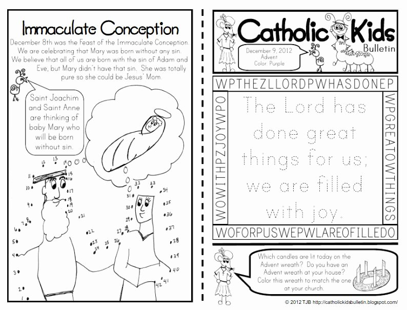 Order Of the Mass Worksheet Unique the Catholic toolbox Free Children's Worship Bulletins