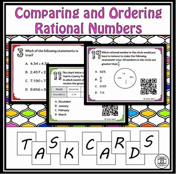 Ordering Rational Numbers Worksheet Beautiful ordering Rational Numbers by Route 22 Educational