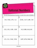 Ordering Rational Numbers Worksheet Unique All Star Math Teaching Resources